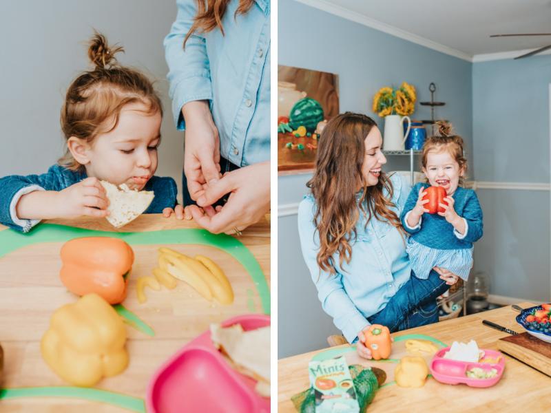 10 راه برای بهبود وضعیت غذا خوردن کودکان